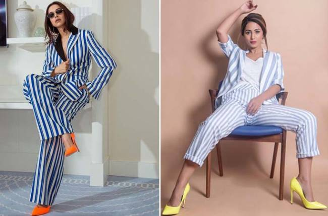 After Deepika Padukone, Hina Khan rocks THIS look in style