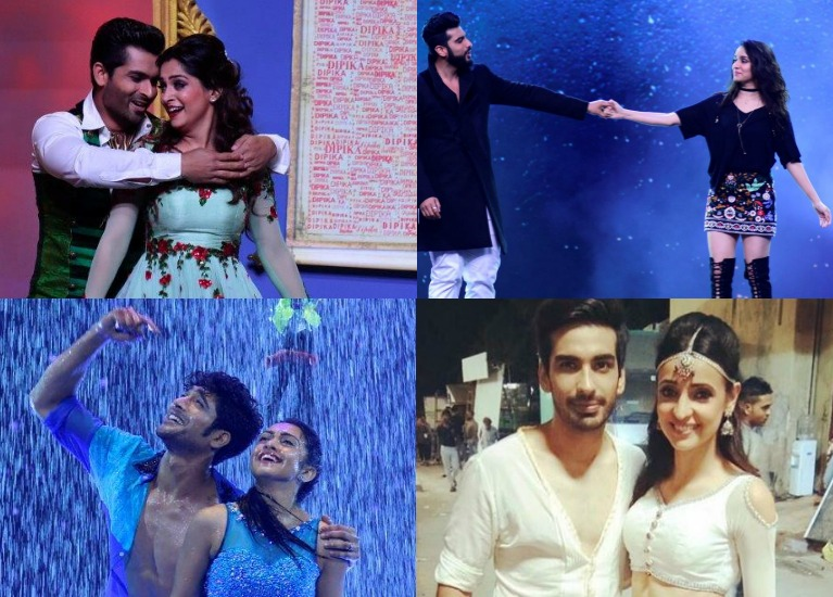 #Stylebuzz: This Week Of 'Nach Baliye 8' Has It All – Bling, Monotones and Prints!